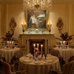 Ballyfin - The Van Der Hagen dining room