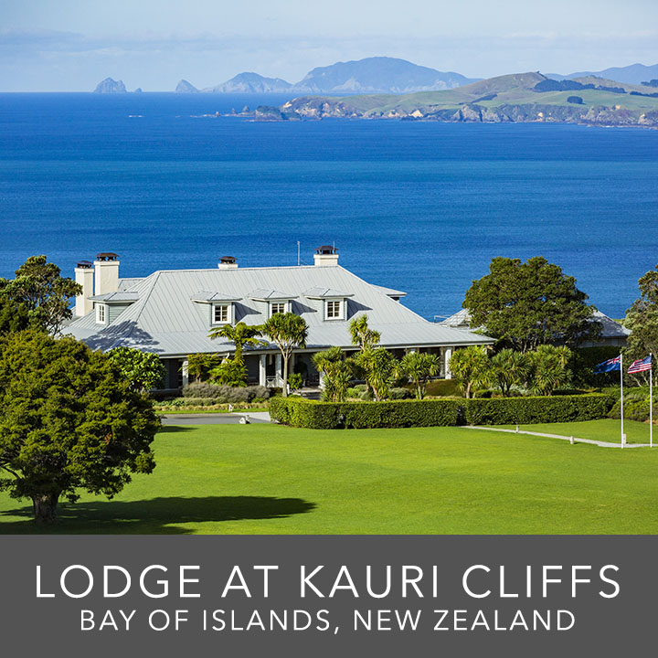 Kauri Cliffs Lodge & Golf Course